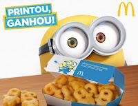 Batata Frita Minions Grátis no McDonald's
