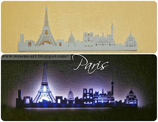 Paris Skyline Lamp     wesens-art.blogspot.com