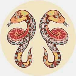Logo zodiak bintang gemini