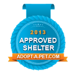 OBG is a 2013 Adopt-A-Pet.Com Approved Shelter