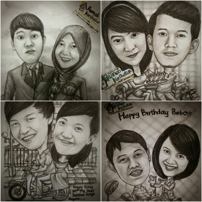 Caricature Pure Pencil 100%