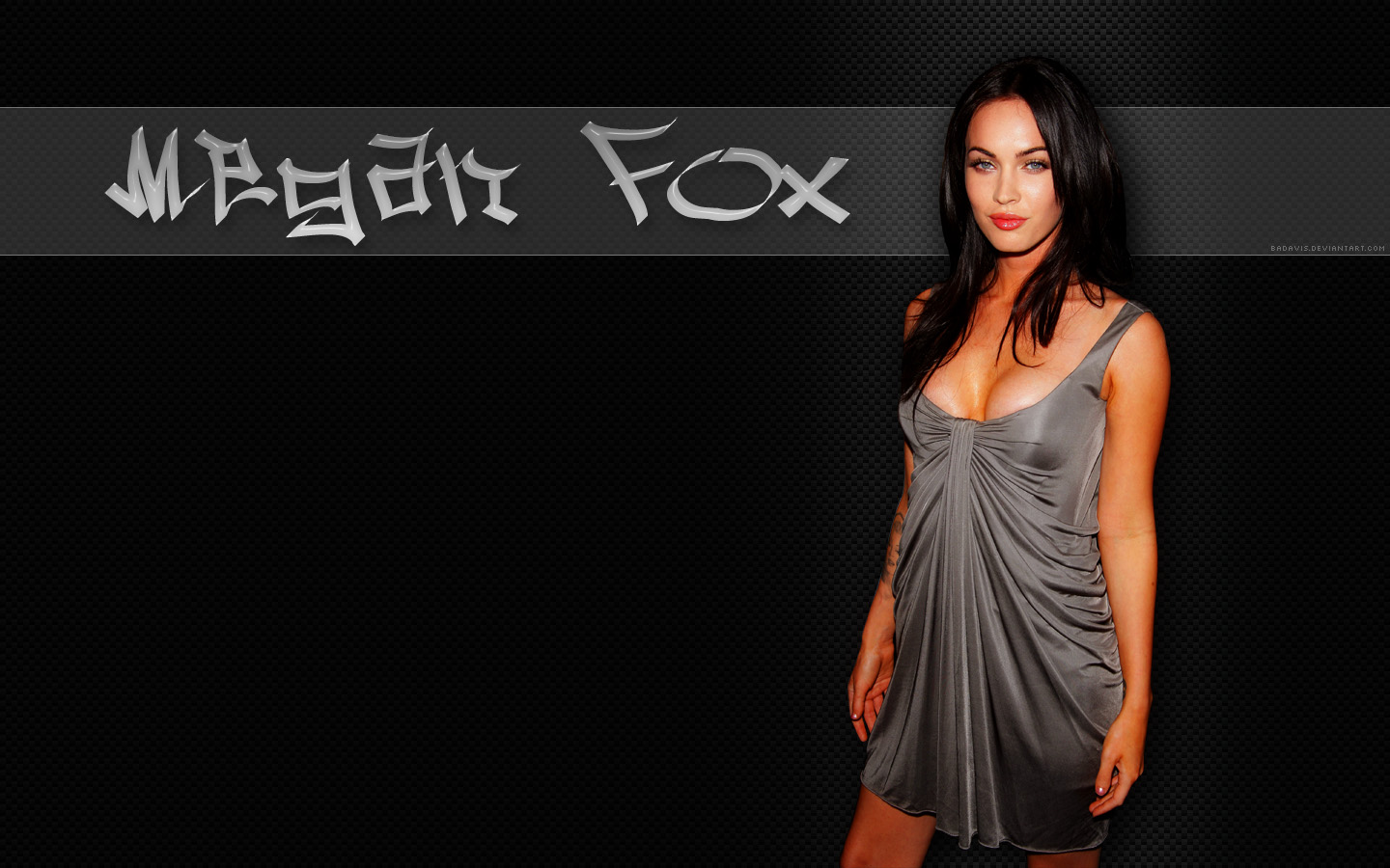 hollywood wallpedia: megan fox wallpaper widescreen hd