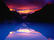Banff National Park. (banff mt victoria and lake louise)