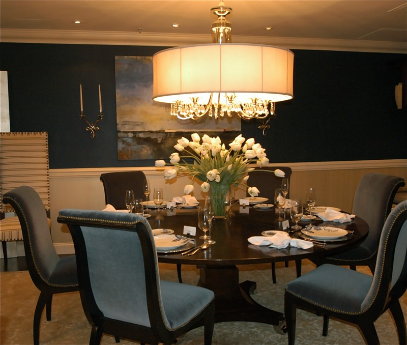 Beautiful dining rooms prime home design beautiful for Dining room table decor ideas