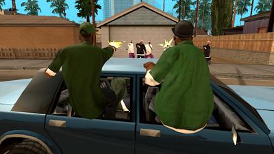 Grand Theft Auto San Andreas 1.08 Mod Apk + Data
