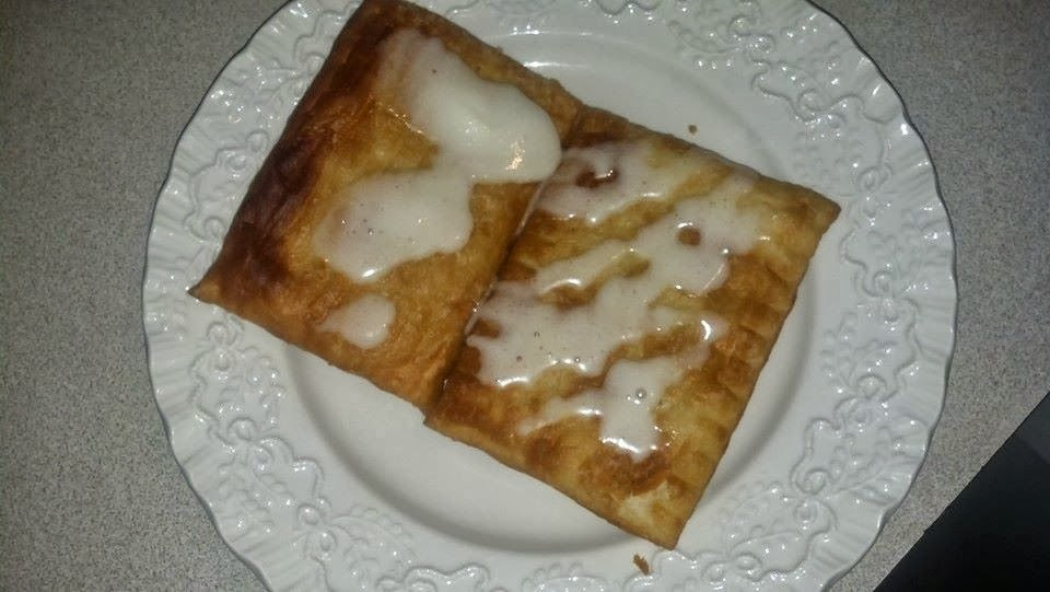 how to make toaster strudel frosting
