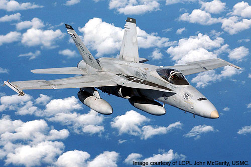CF-18 Hornet Canadian Multi-Role Fighter Jet