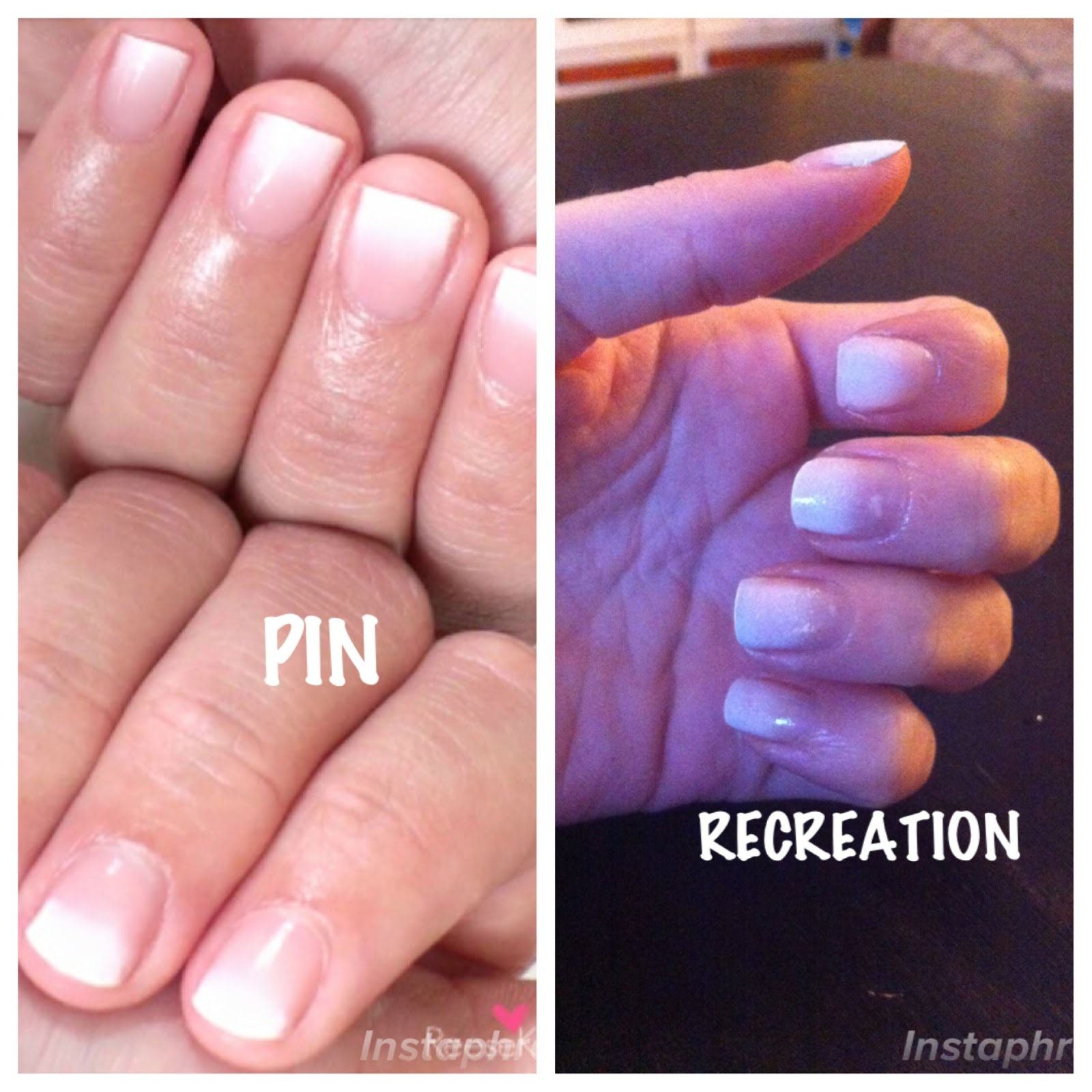 InstaReview_Pinsterest: Ombre French Manicure