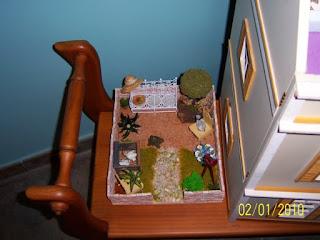 Manualidades para regalar, jardin de muñecas