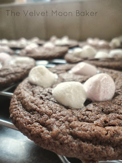 Hot Cocoa Pudding Cookies
