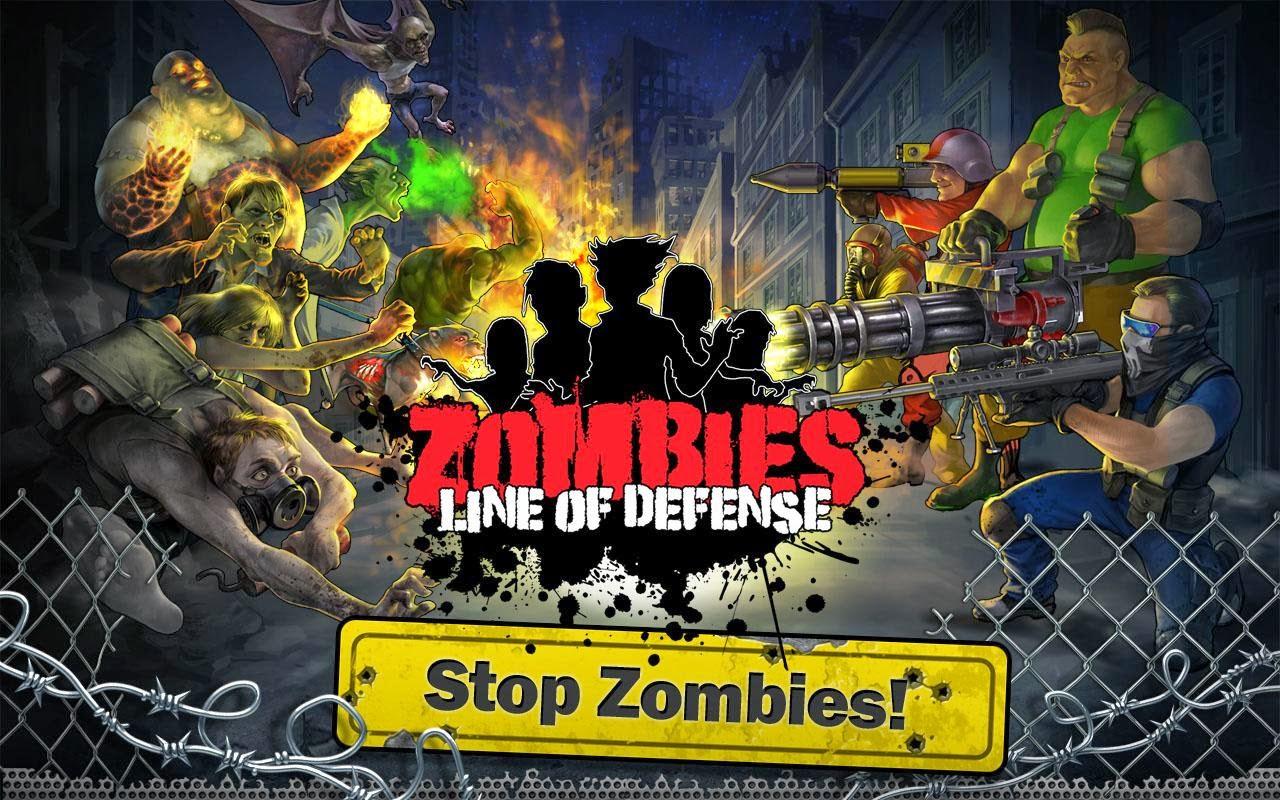 Zombies: Line of Defense v0.7 Full Apk Data