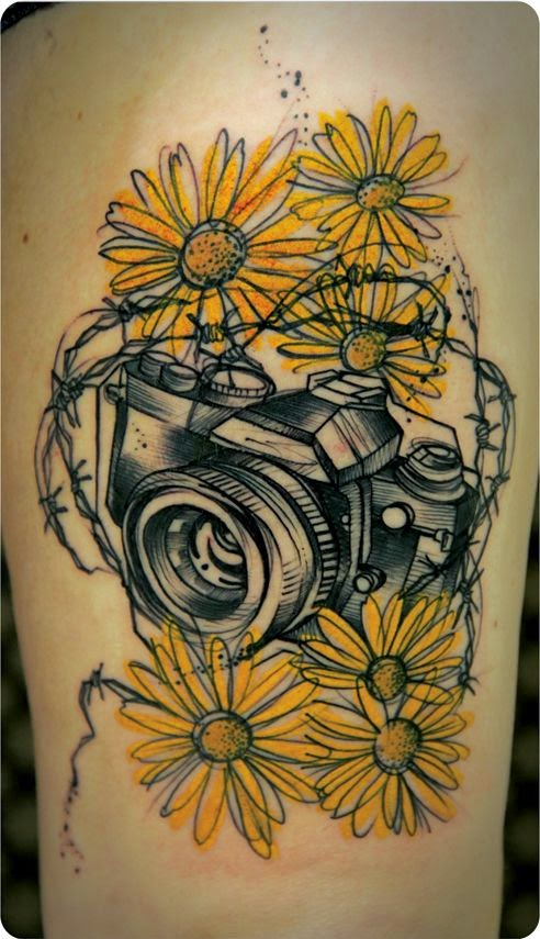 ♥ ♫ ♥ Awesome Camera Tattoos ♥ ♫ ♥