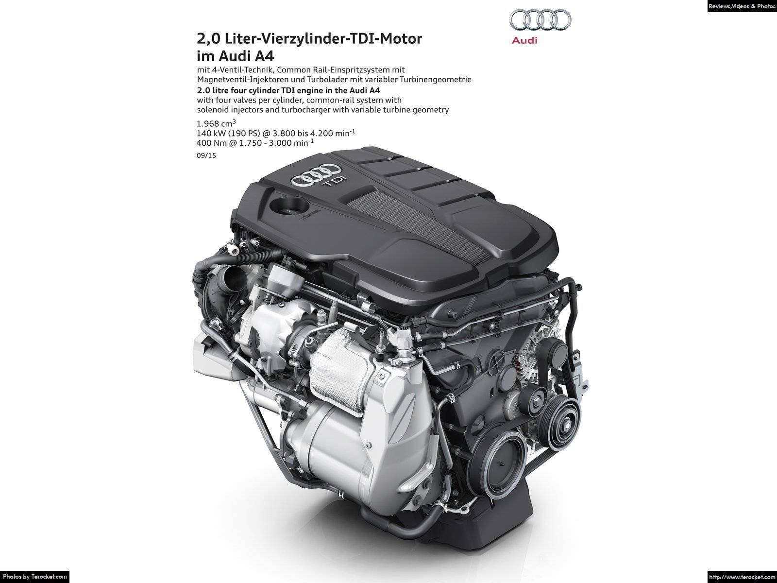Hình ảnh xe ô tô Audi A4 2016 & nội ngoại thất