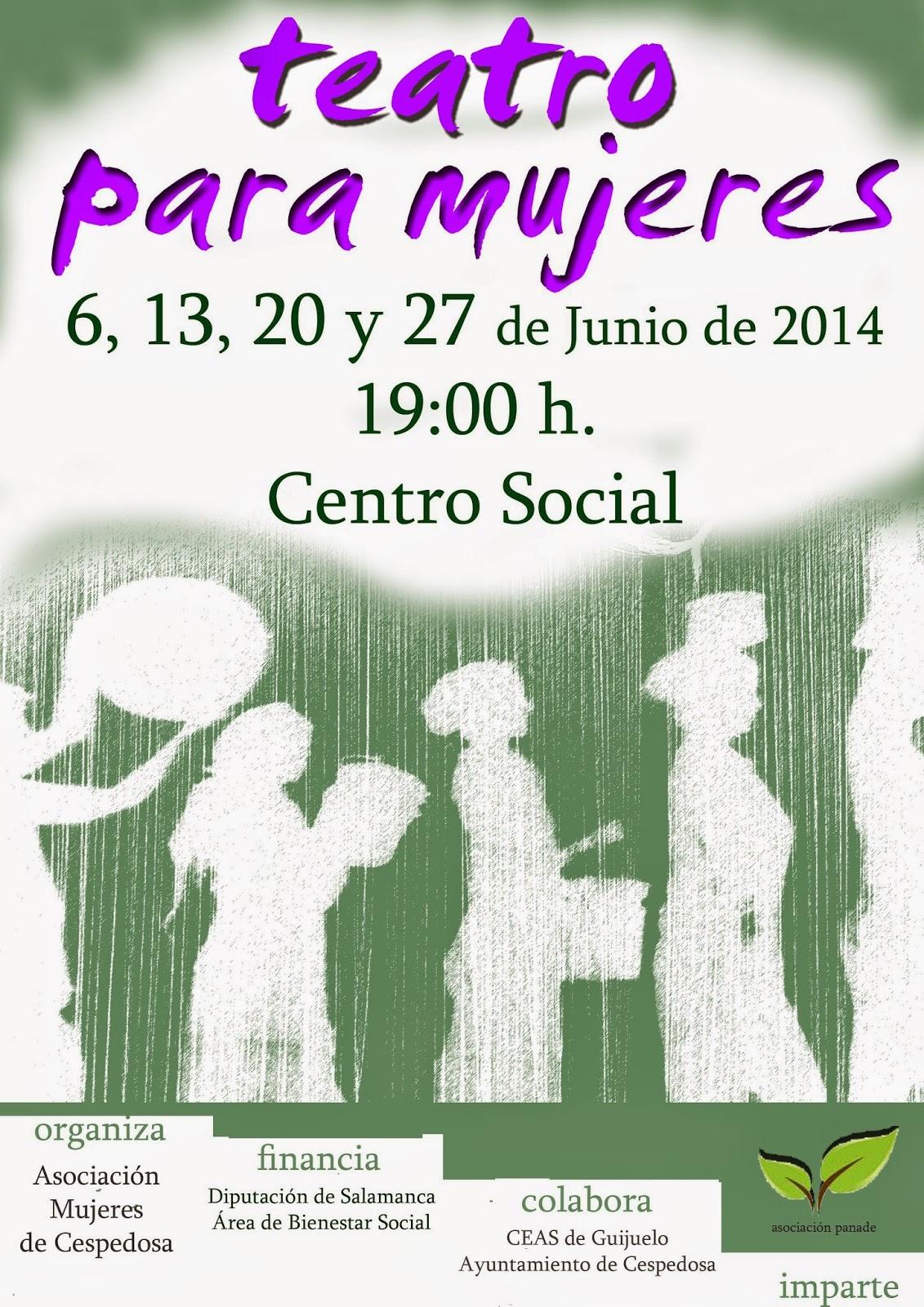 """""""Teatro para Mujeres"""" en Cespedosa"""