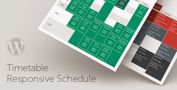 Best Timetable schedule plugins