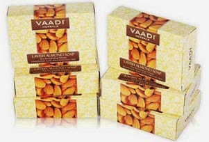 Register and Get Vaadi Herbals Lavish Almond Soap – Pack of 6 for Rs.79 Only (For New Customers)