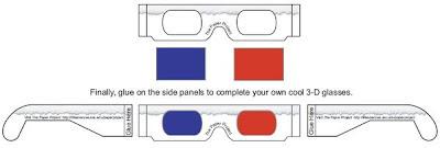 cara membuat kacamata 3D