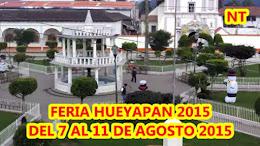 PROGRAMA FERIA HUEYAPAN 2015