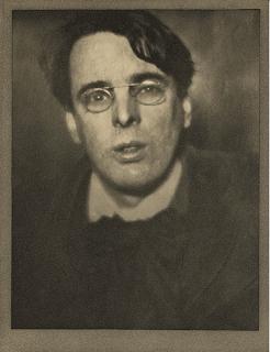 William Butler Yeats por Alvin Langdon Coburn  en  1910