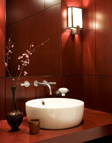 A Posh Place The Powder Room A Diamond In The Rough