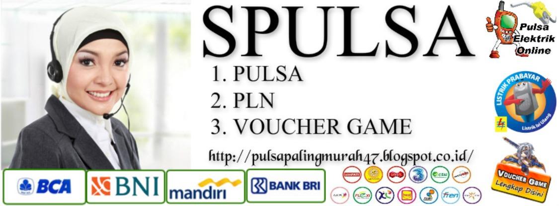 Spulsa   PULSA   PLN   VOUCHER GAME   PPOB TERMURAH