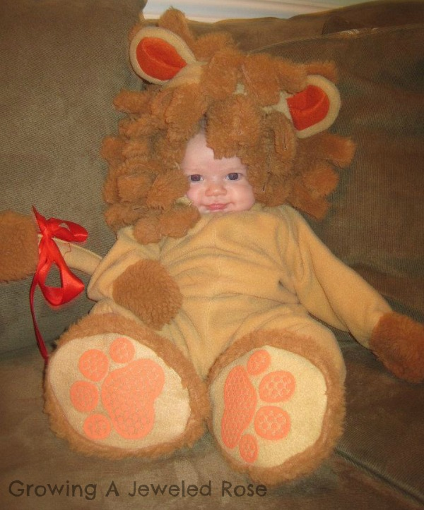 loin child costume