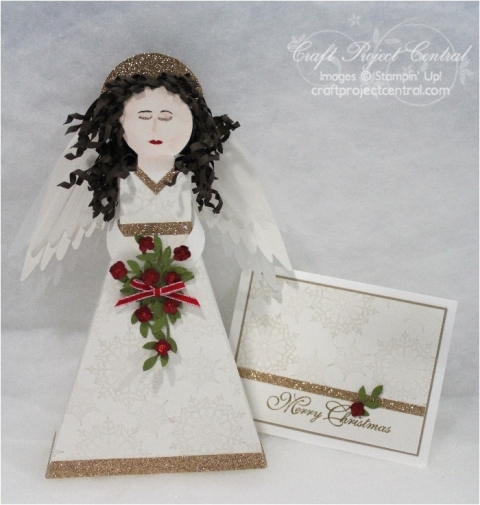Angel Gift Box and Card