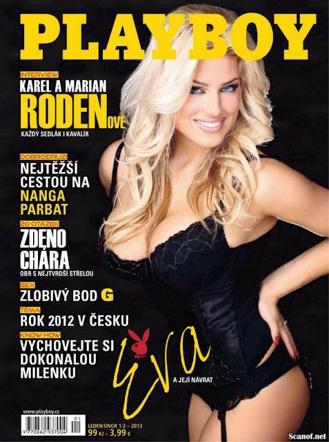 Eva Perkausova na Playboy da República Checa