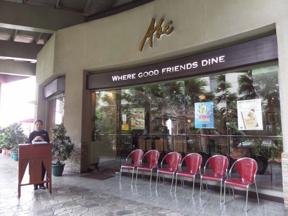 Abè: Where Good Friends Dine on Great Pinoy Food
