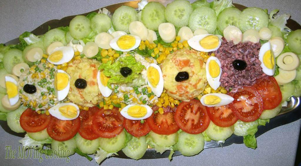 Salade compos e for Salade entree originale