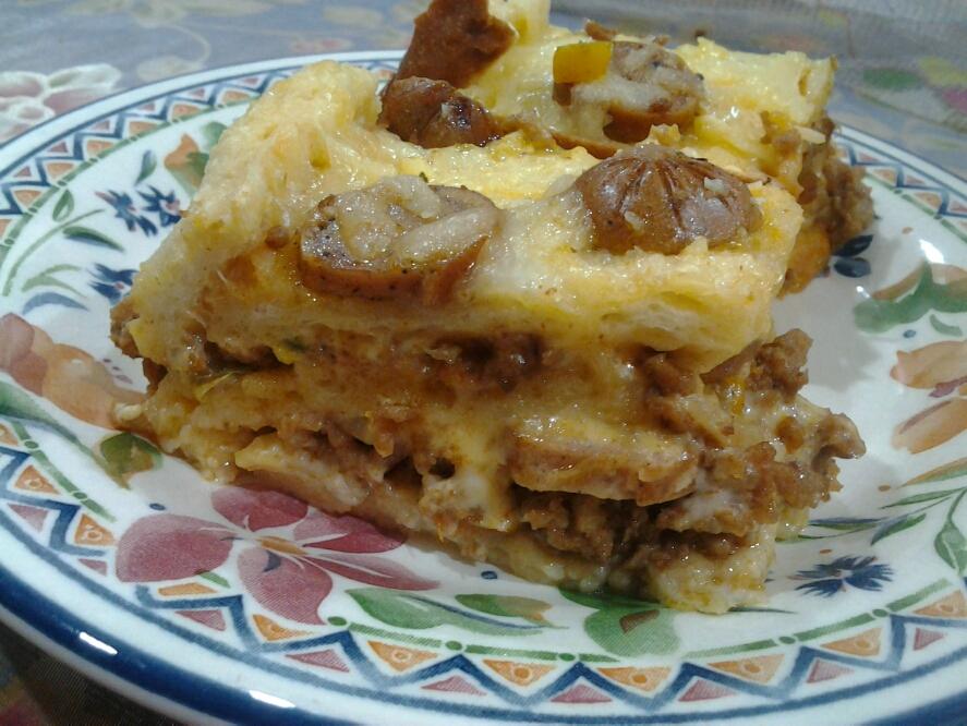 Passage Of Time Roti Daging Berkeju Ala Lasagna