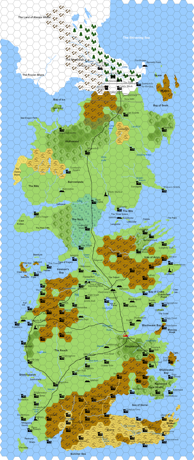 detailed map of game thrones with More Maps Of Westeros on The Maps Of A Song Of Ice And Fire Fan Maps together with Ultimate Guide To Turning Minecraft Into A Game Of Thrones Sandbox in addition Behold The Interactive Map Of Faerun likewise More Maps Of Westeros besides Age Of Empires 2 Hd The African Kingdoms.