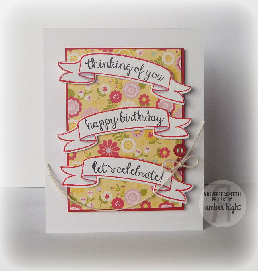 The stamping scrapbooker countdown to confetti day 2 beautiful there are three different types of banners and several sentiments i only used one banner shape but picked out three sentiments that would work with the kristyandbryce Images