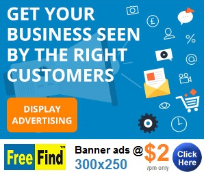 Advertise BANNER Ads -30 days $2