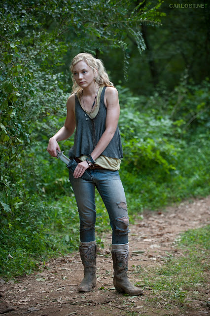 Beth Greene (Emily Kinney) en The Walking Dead 4x10 Inmates