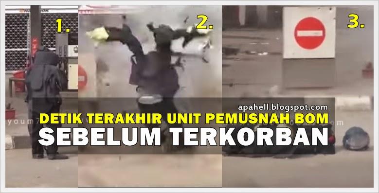 Detik Terakhir Unit Pemusnah Bom Sebelum Terkorban (Video) http://apahell.blogspot.com/2015/01/detik-terakhir-unit-pemusnah-bom.html
