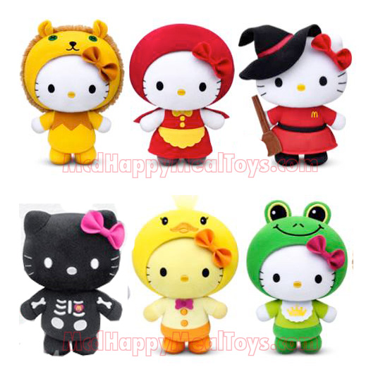 Hello Kitty Mcdonald S Toys : Hello kitty fairy tale happy meal toys