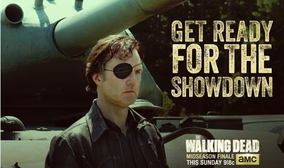 El Gobernador con tanque detras - The Walking Dead