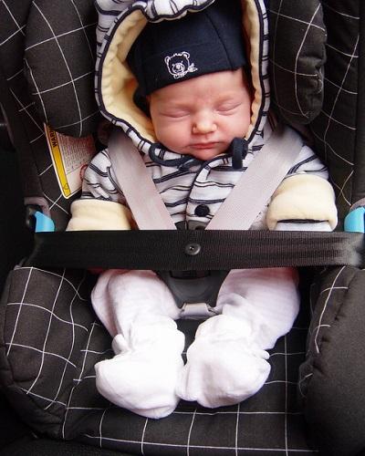 Photo bébé en siege
