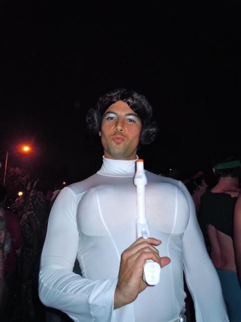 Princess Leia West Hollywood Halloween Carnaval