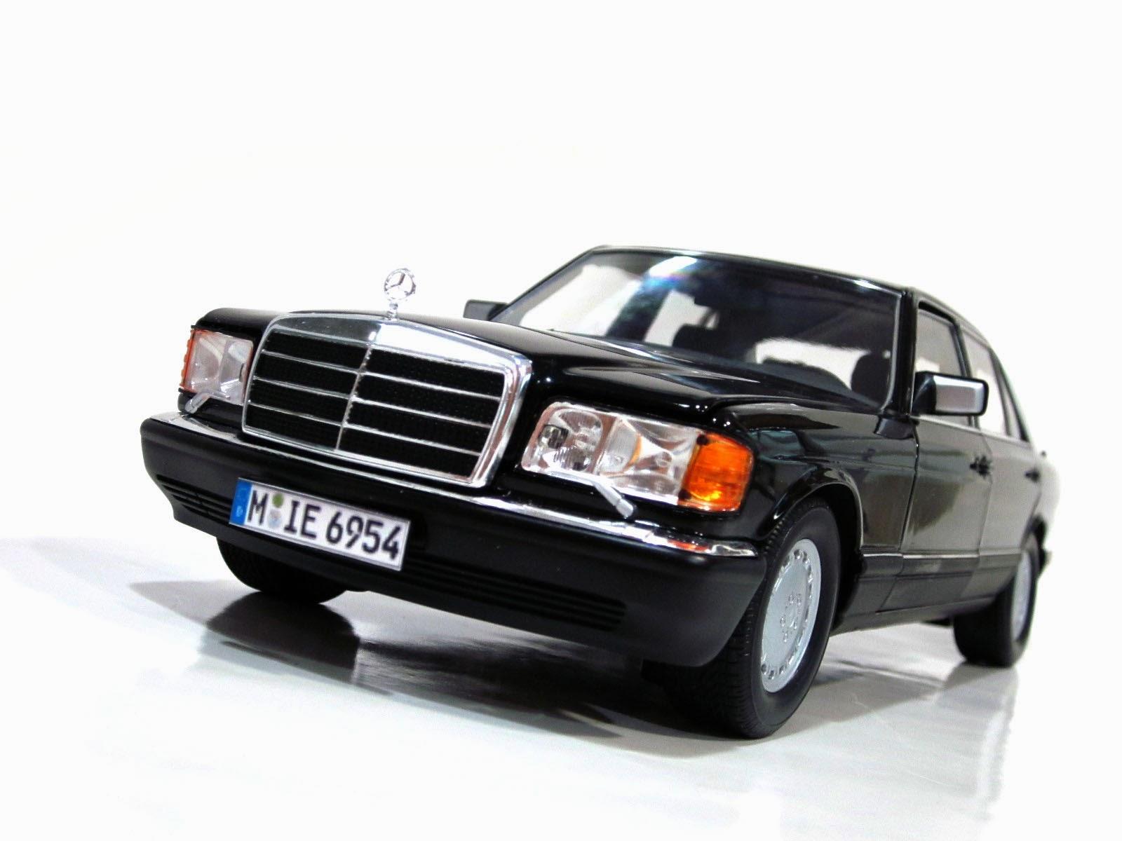 Mercedes-Benz 560 SEL W126 '85 - Norev