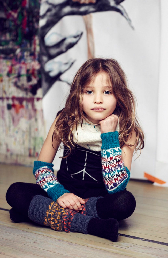 Cabbages and Kings autumn-winter 2014/15 - kids knit accesories