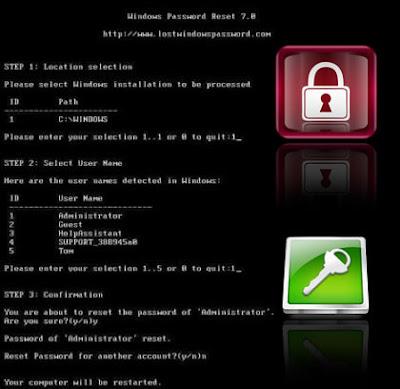 ALL Windows Password Remover