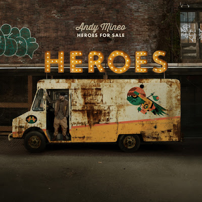 Heroes For Sale, Andy Mineo Album art