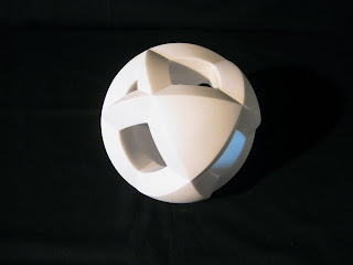 Abstract Marble Sculpture by Kiwame Kubo