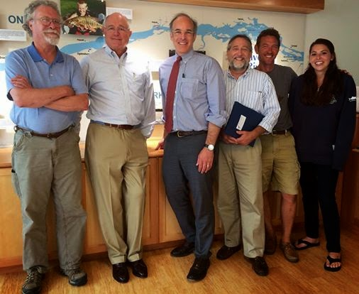 Aaron Woolf Pitches Candidacy to Save the River Board