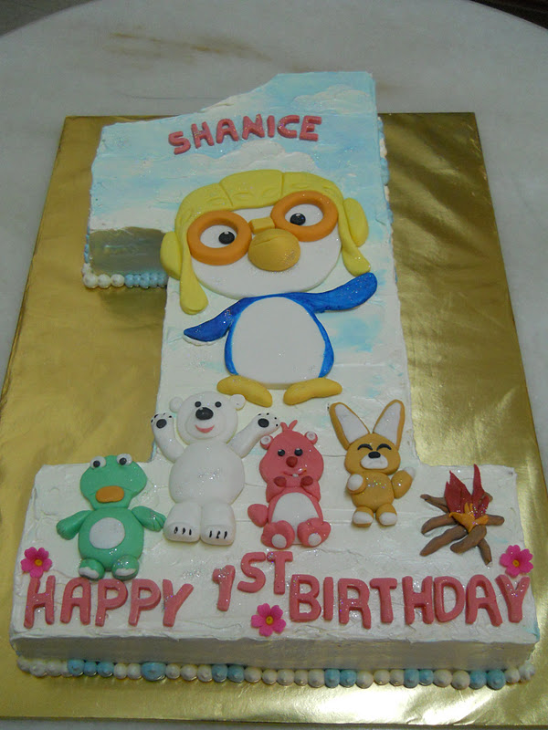 THE BEST CAKES IN TOWN PORORO ONE YEAR OLD BIRTHDAY CAKE
