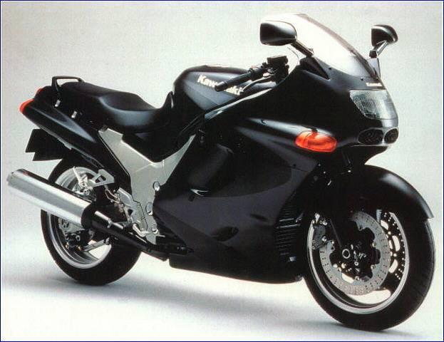 motorcycles: Kawasaki ZZR 1100