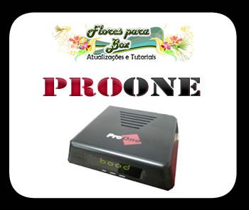 Atualização Dongle Proone 1 v.5.07 - 14/08/2013