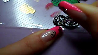 Manikir-obuka-tutorijal-4-(pink-french-manikir-sa-arabeskama)-012